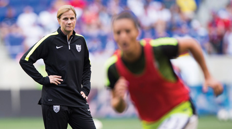 Jill Ellis '88 and U.S. World Cup champs inspire new generation