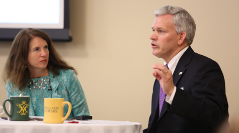 Virginia college presidents discuss 'big idea' of service year at governor's summit